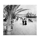 The Promenade Des Anglais  Nice  France  Late 19th Century