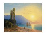 Sunset over Yalta