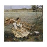 Hay Making  1877