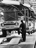 Ford Escort Production Line  1973
