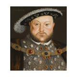 Portrait of King Henry VIII of England
