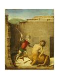 Theseus Slaying Minotaur  1505