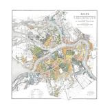 Map of Petersburg Giclée