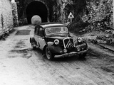 Citroën 15/6 in the Monte Carlo Rally  1955
