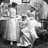 Placing the Bridal Veil