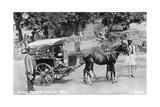 Mail Tonga  Nainital  India  1917