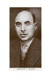 Arthur J Elvin  British Boxing Promoter  1938