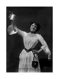 Eva Moore as 'Kathie' in Boys  First Come  First Served  1903