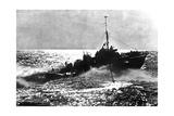 Allied Motor Torpedo Boat on Patrol Off the French Coast  1944