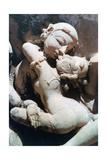 Erotic Sculpture  Khajuraho  India  C950-1050
