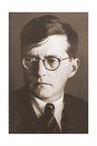 Portrait of the Composer Dmitri Shostakovich (1906-197)  1930S