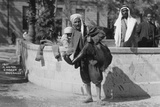 A Water Carrier in Damascus  Syria  C1920s-30s