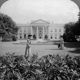 The White House  Washington Dc  USA  C Late 19th Century