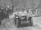 1935 MG PA Midget on the Mcc Land's End Trial  1939