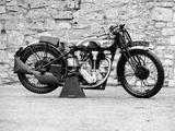 Norton Motorbike  an International Model 30  1932