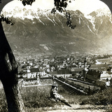 Innsbruck and the Bavarian Alps  Tyrol  Austria