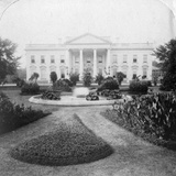 The White House  Washington  Dc  USA  Late 19th Century
