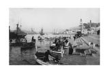 Grand Harbour  Malta  1937