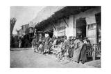 Arab Café  Kazimain  Iraq  1917-1919