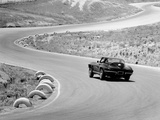 1964 Chevrolet Corvette Stingray on a Winding Racetrack  (C1964)