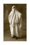 Veiled Woman  Algiers  Algeria  1943