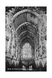 Roof of the Chancel  Rosslyn Chapel  Midlothian  Scotland  20th Century