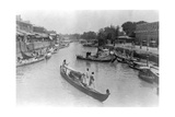 Ashar Creek  Basra  Iraq  1917