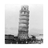 The Leaning Tower of Pisa  Italy  1892