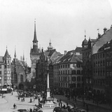 Marienplatz  Munich  Germany  C1900