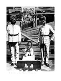 A Coolie in the Stocks  Hong Kong  1908