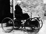 Henry Ford on a 1896 Ford  (C1940S)