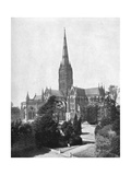 Salisbury Cathedral  1911-1912