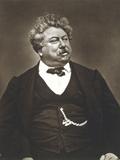 Alexandre Dumas the Elder  French Novelist and Playwright  C1850-1870
