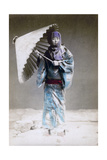 Museme  Woman in Winter Costume  Japan  1882