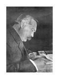 Sir Arthur Conan Doyle  Scottish Author  1912