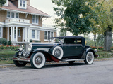 A 1931 Duesenberg J Convertible Victoria