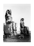 The Colossi of Memnon  Thebes  Nubia  Egypt  1878