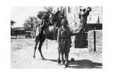 Indian Camel Trooper  Baghdad  1918