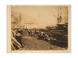 The Ordnance Wharf  Balaklava  1855