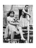 A Mother and Her Child  Papua  New Guinea  1936