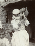 Armenian Country Girl  Yerevan  Armenia  1880S