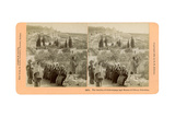 The Garden of Gethsemane and the Mount of Olives  Palestine  1898