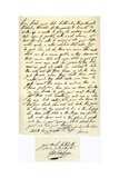Letter from George Villiers  Duke of Buckingham  to James I  25th April 1623