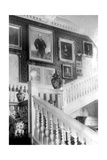 Staircase Decorated with Paintings  C1882