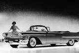 Model with a Cadillac Car  1958
