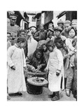 Street Gambling  China  1922