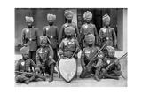 The Champion Shooting Team of the 26th Punjab Regiment of Bengal Infantry  1896