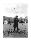 A Bird Charmer  Paris  1931
