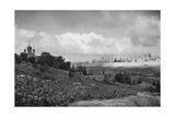Jeruslem and the Garden of Gethsemane  1937