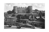 Shrewsbury Castle  Shrewsbury  Shropshire  C1900s-C1920S